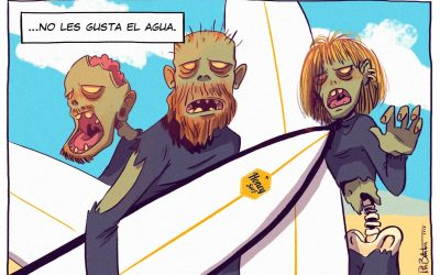ZOMBIES DON´T SURF!!!