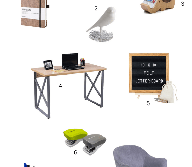 8 Minimalist Home Office Accessories to refresh your workspace and mood.
