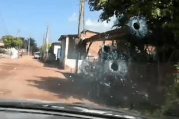 Polícias filmam própria morte...
