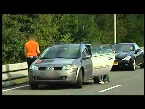 Chuva de dinheiro causa tumulto em estrada holandesa