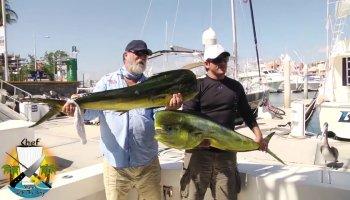 Pescadores surpreendidos quando se gabavam da sua pescaria