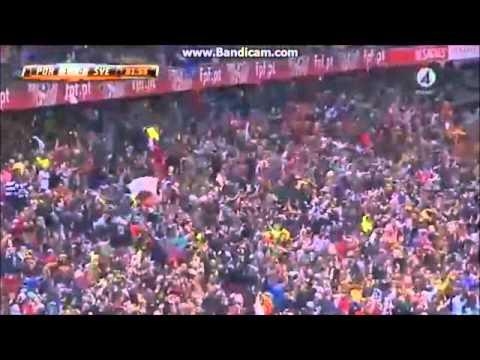 Hugo Sousa divulga o relato de uma rádio local no golo de Cristiano Ronaldo no Portugal x Suécia
