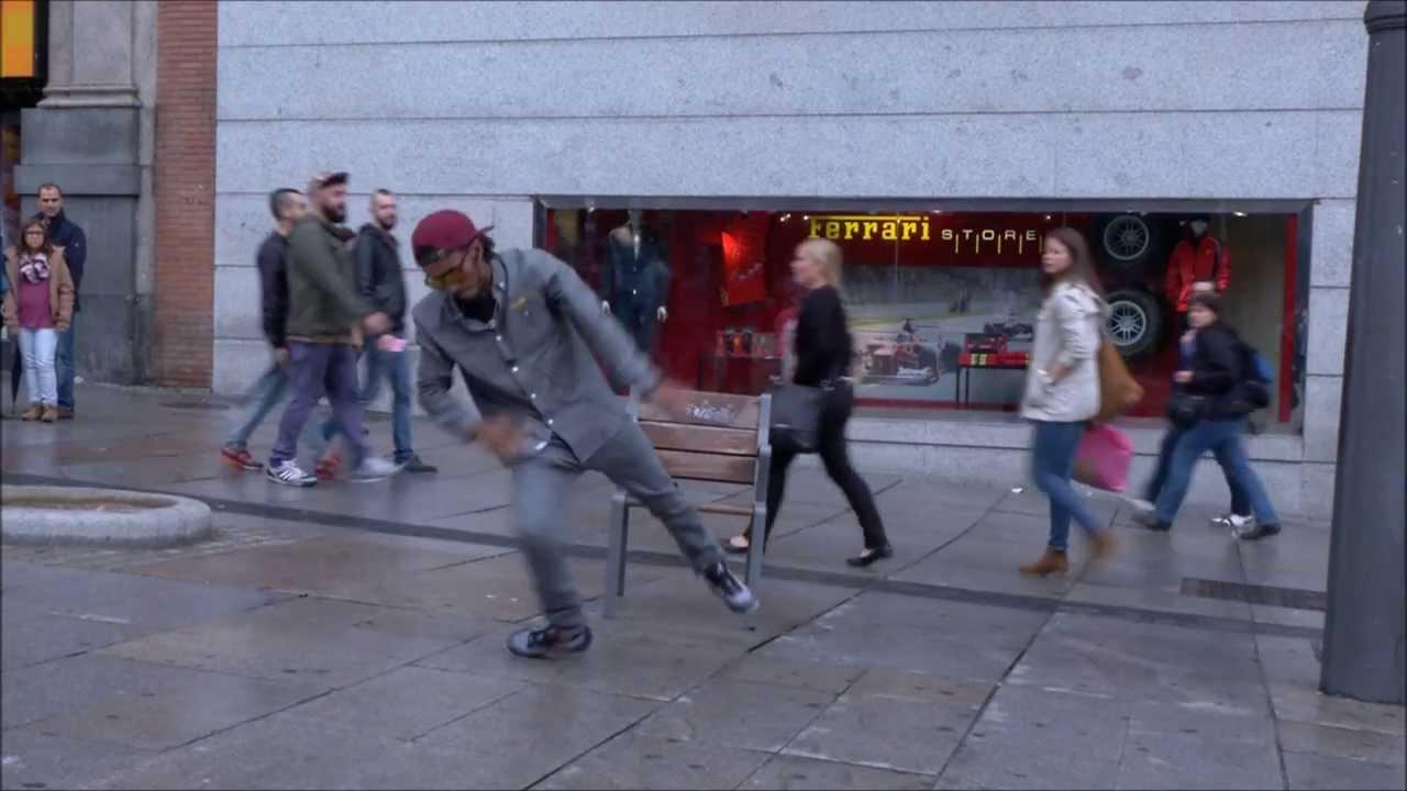 Um dançarino do outro mundo