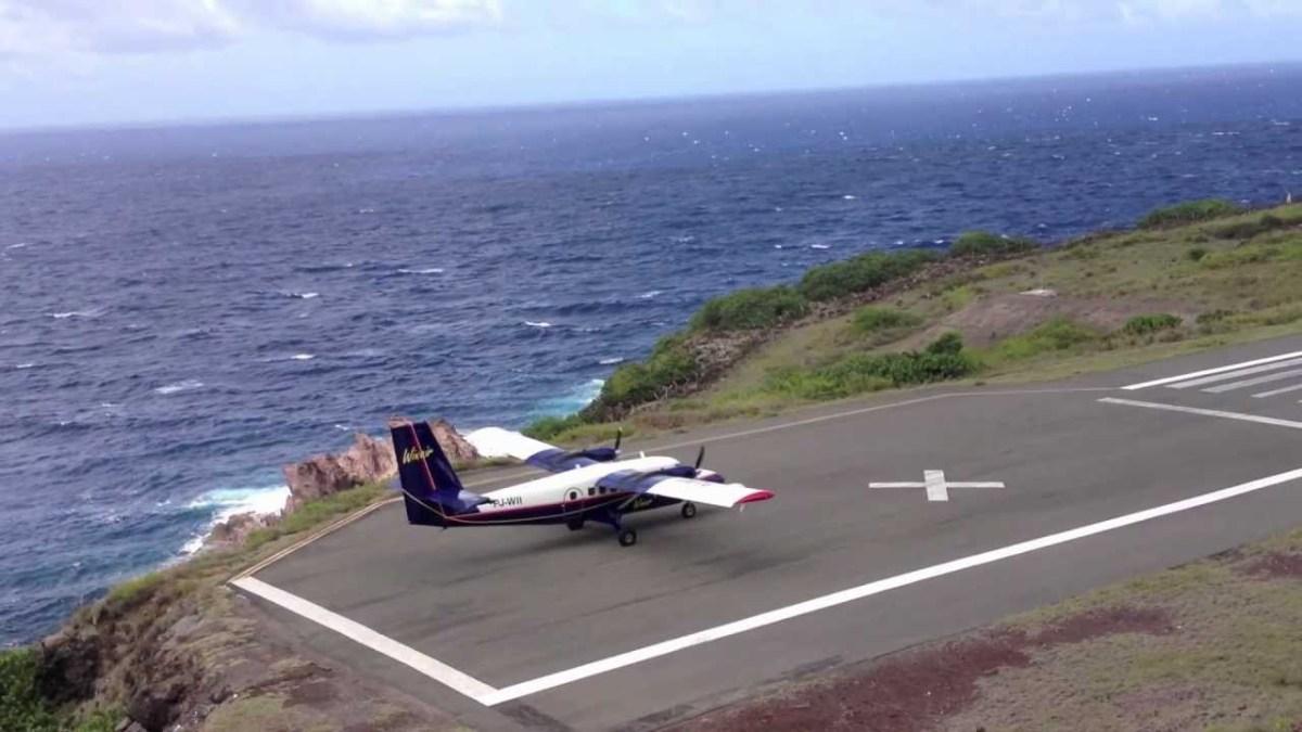 Pista de aterragem mais pequena do mundo