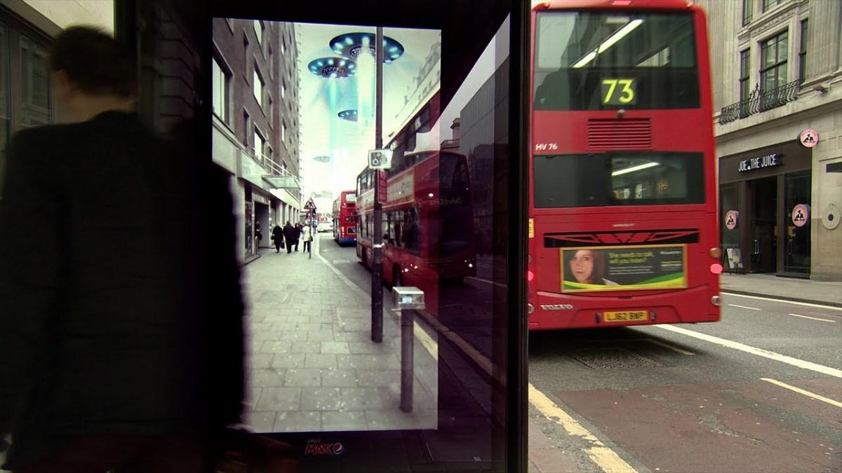 Apanhados na paragem de autocarro