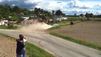 WRC, Kit de unhas no rali da Noruega