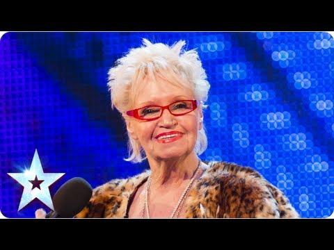 Avózinha de 71 anos vai ao Britain's Got Talent e põe toda a gente ao rubro a cantar kiss my ass