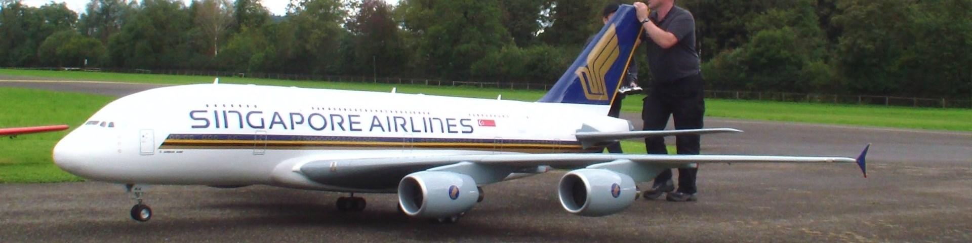 maior avião telecomandado