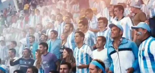 Coca Cola compara a vida com uma partida da Seleção Argentina