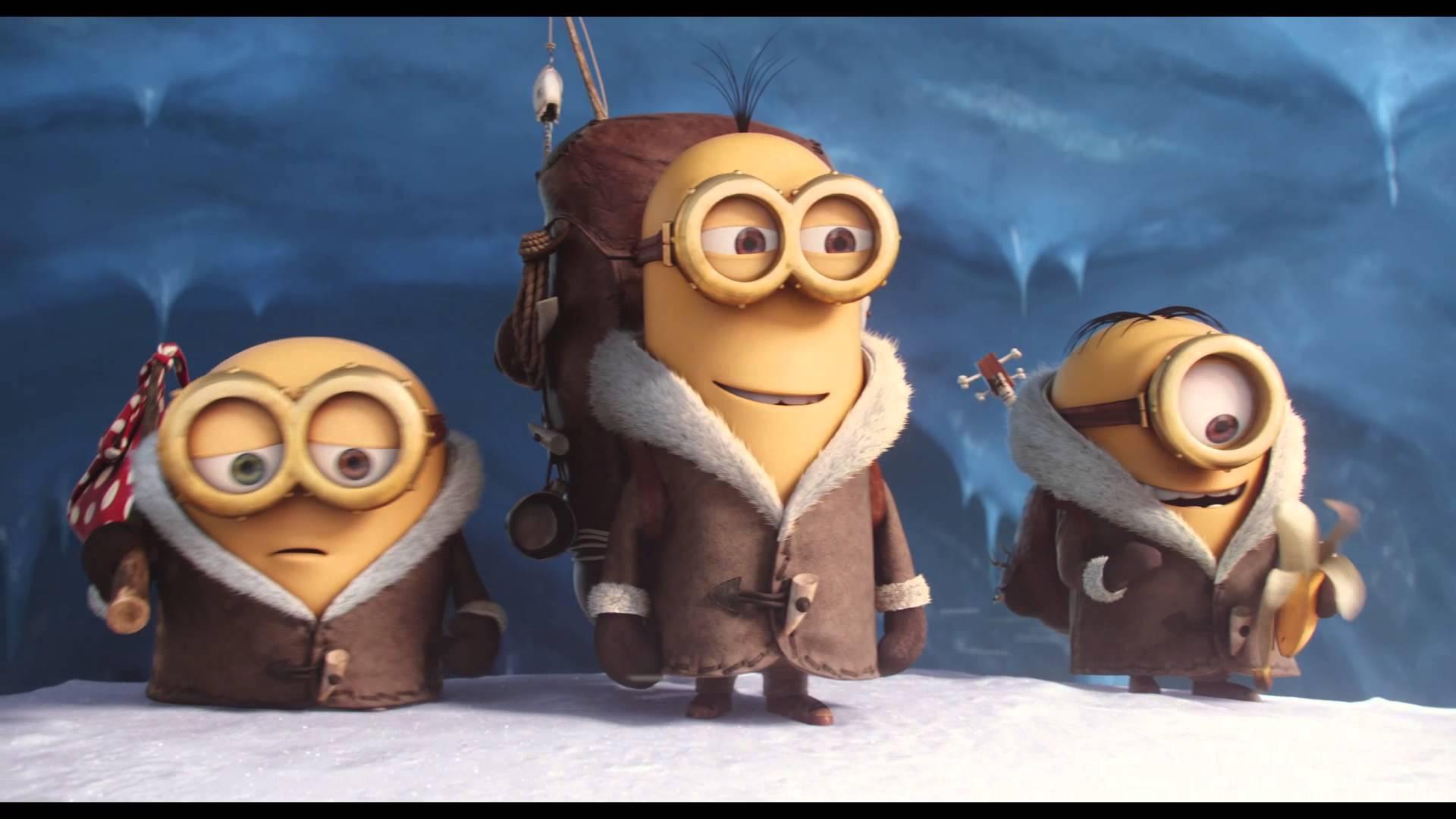 Primeiras imagens do tão aguardado filme Minions