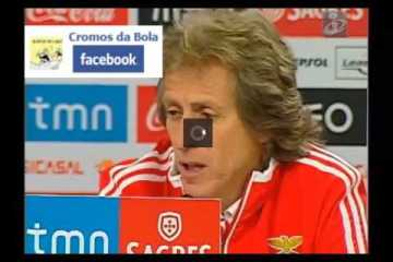 brilhante discurso do treinador do Benfica
