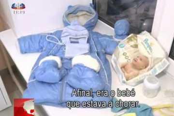 gata salva bebé