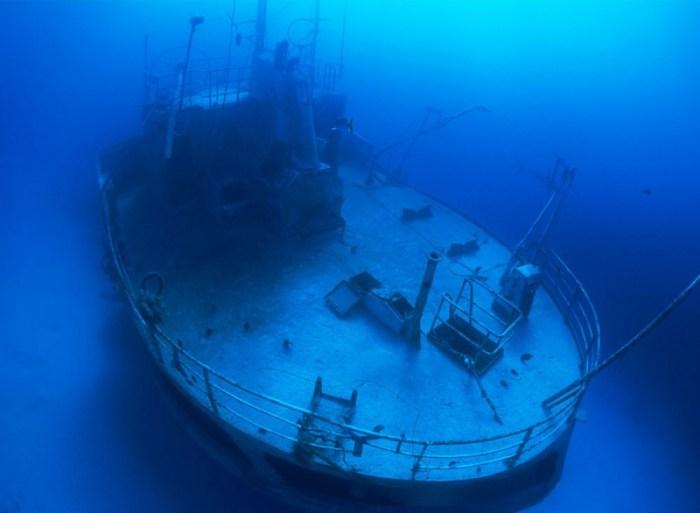 Navios afundado pelo mundo