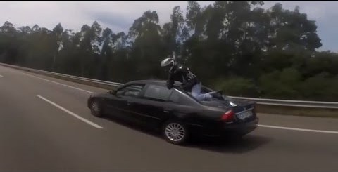 Acidente de Moto