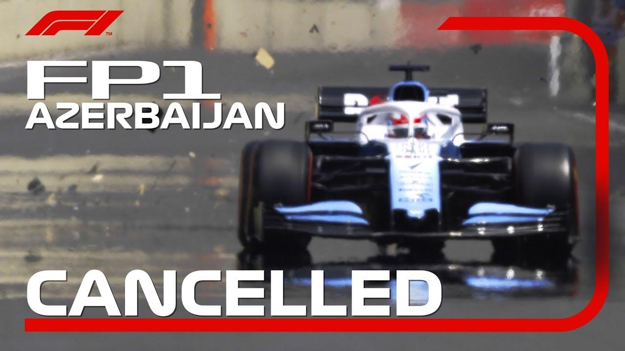 f1 grande prémio cancelado