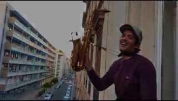 Artistas na quarentena – The Rhythm of the Night ao vivo da varanda