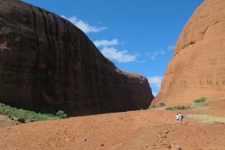 The Olgas-the wind hike-Uluru