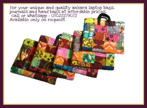 Thinking of the perfect Christmas gift? Consider these colorful Ankara laptop bags today!