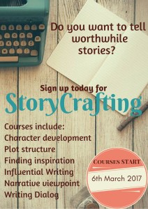 Sign up for StoryCrafting today and learn the art of effective storytelling. Click on the image to see more details.