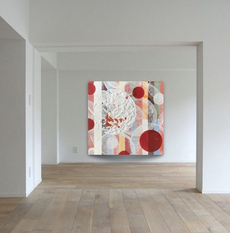 larges canvas multicolor