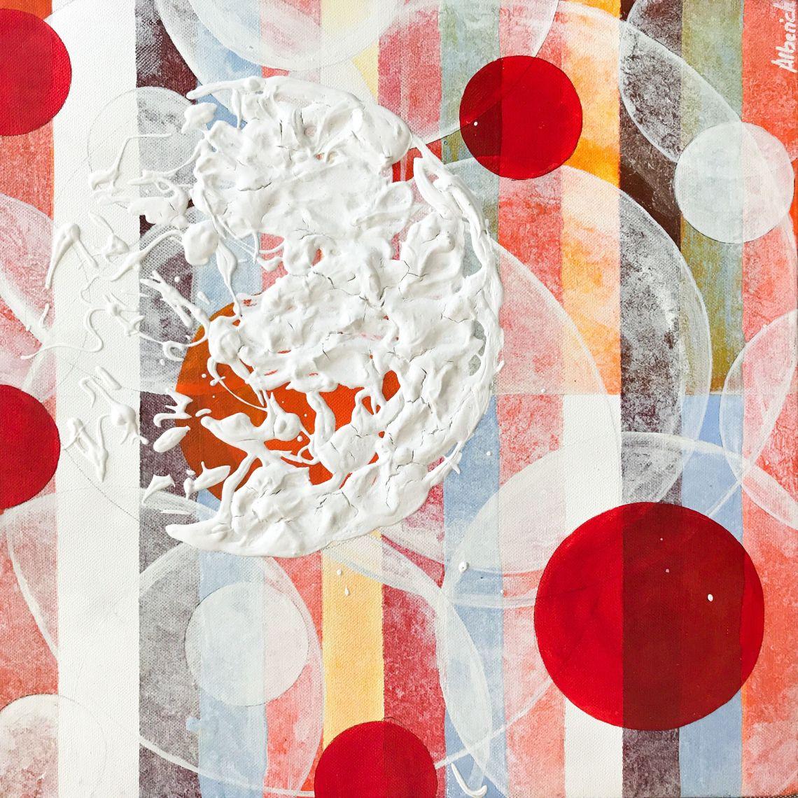Cuadro colorista abstracto