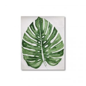 Pintura tonos verdes