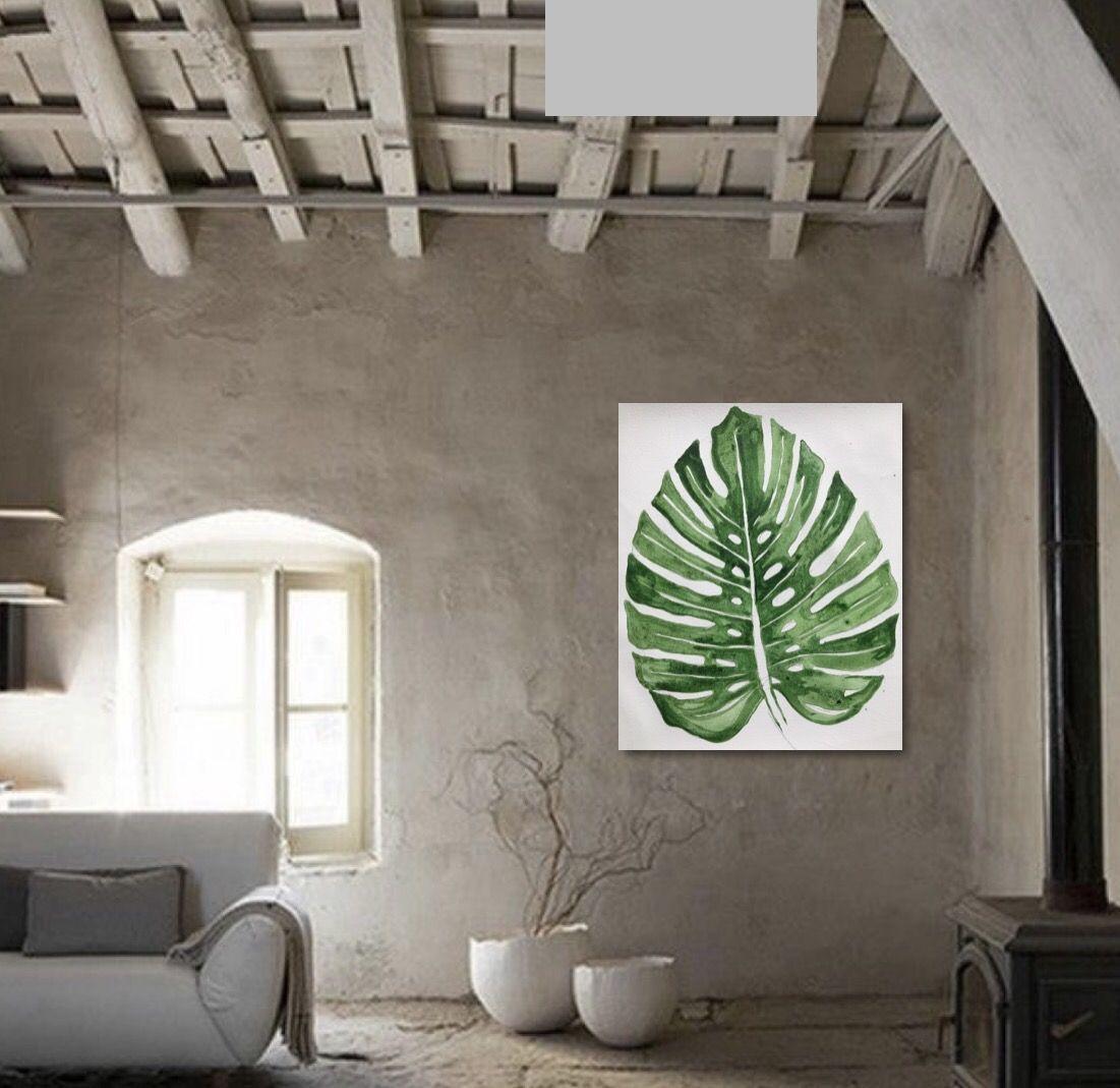 Cuadro tonos verdes