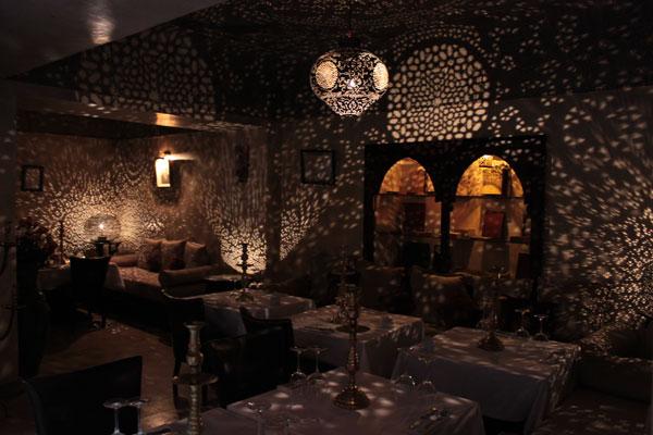 Restaurant, The Mellah (Jewish Quarter), Marrakech