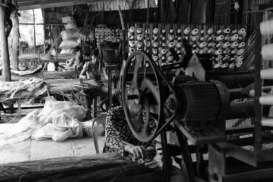 Weaving co-operative, Mekong Delta