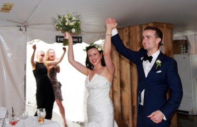 Presenting Mr & Mrs Allin