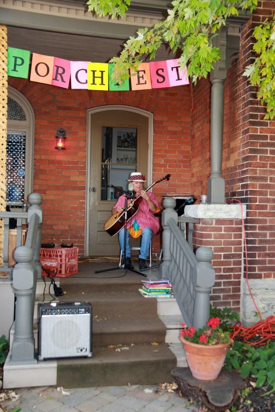 Folk Music Singer - Pine Street