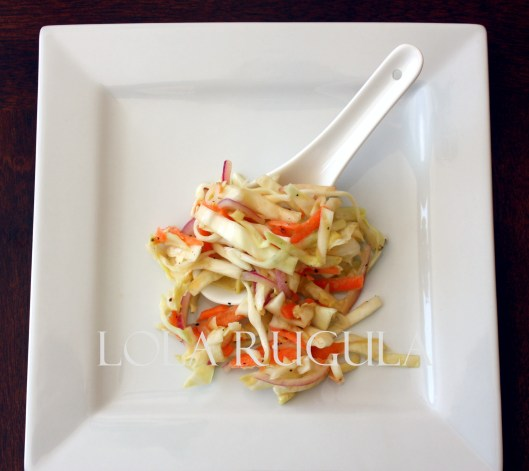 oil and vinegar no mayo coleslaw recipe