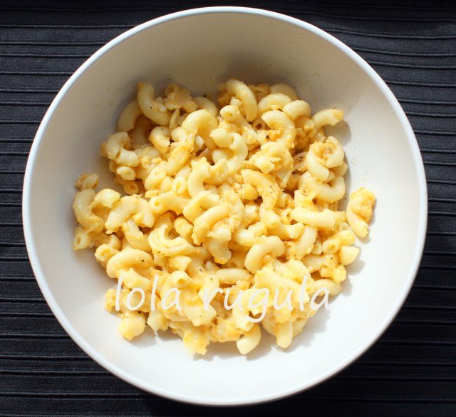lola rugula macaroni and cheese recipe