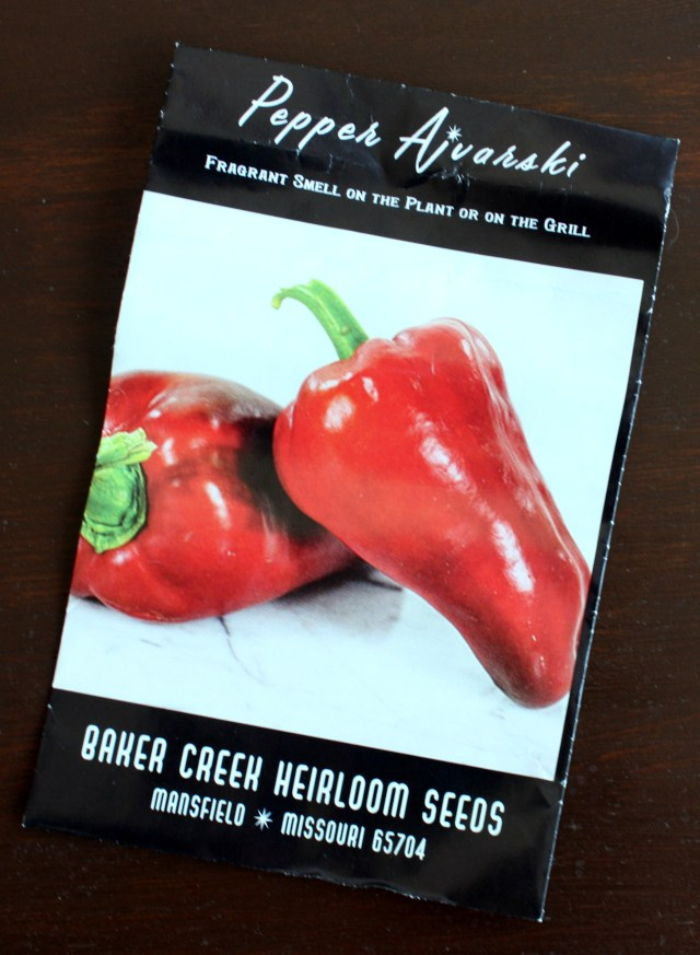 lola rugula ajvar peppers