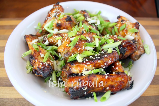 lola rugula sesame chicken wings
