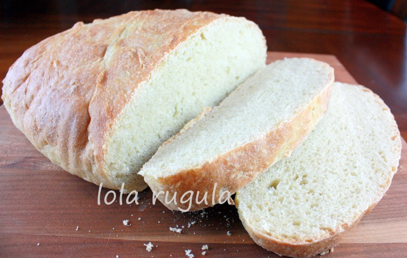 lola rugula homemade french country bread