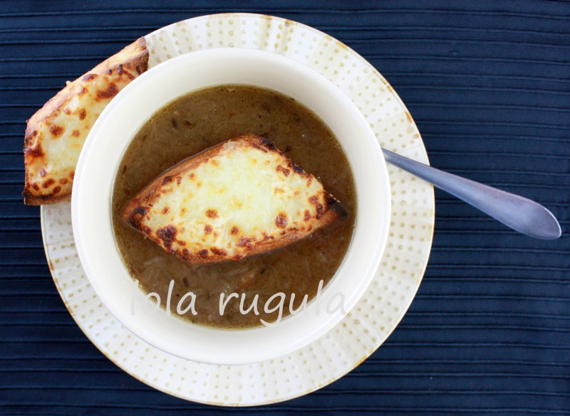 lola rugula how to make homemade french onion soup