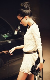 Chic top knot