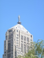 chicago board of trade - goddess ceres on top