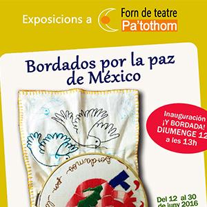 Expo: Bordados por la paz de México