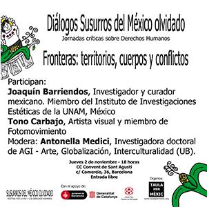 Conferencia: Fronteras: territorios, cuerpos y conflictos