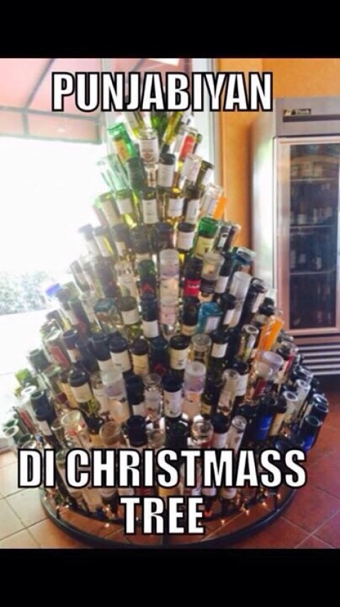 punjabi christmas tree