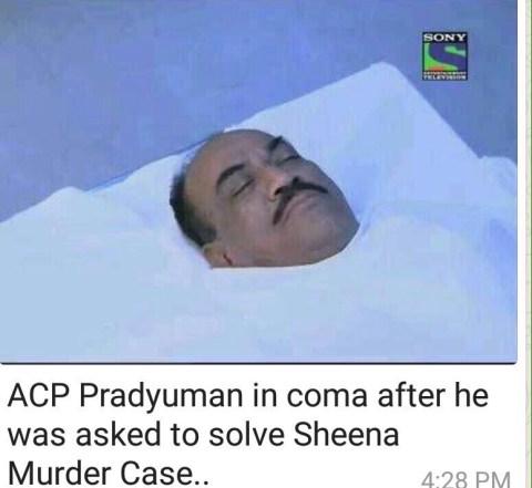 app pradyuman in coma