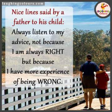 lesson to son by father