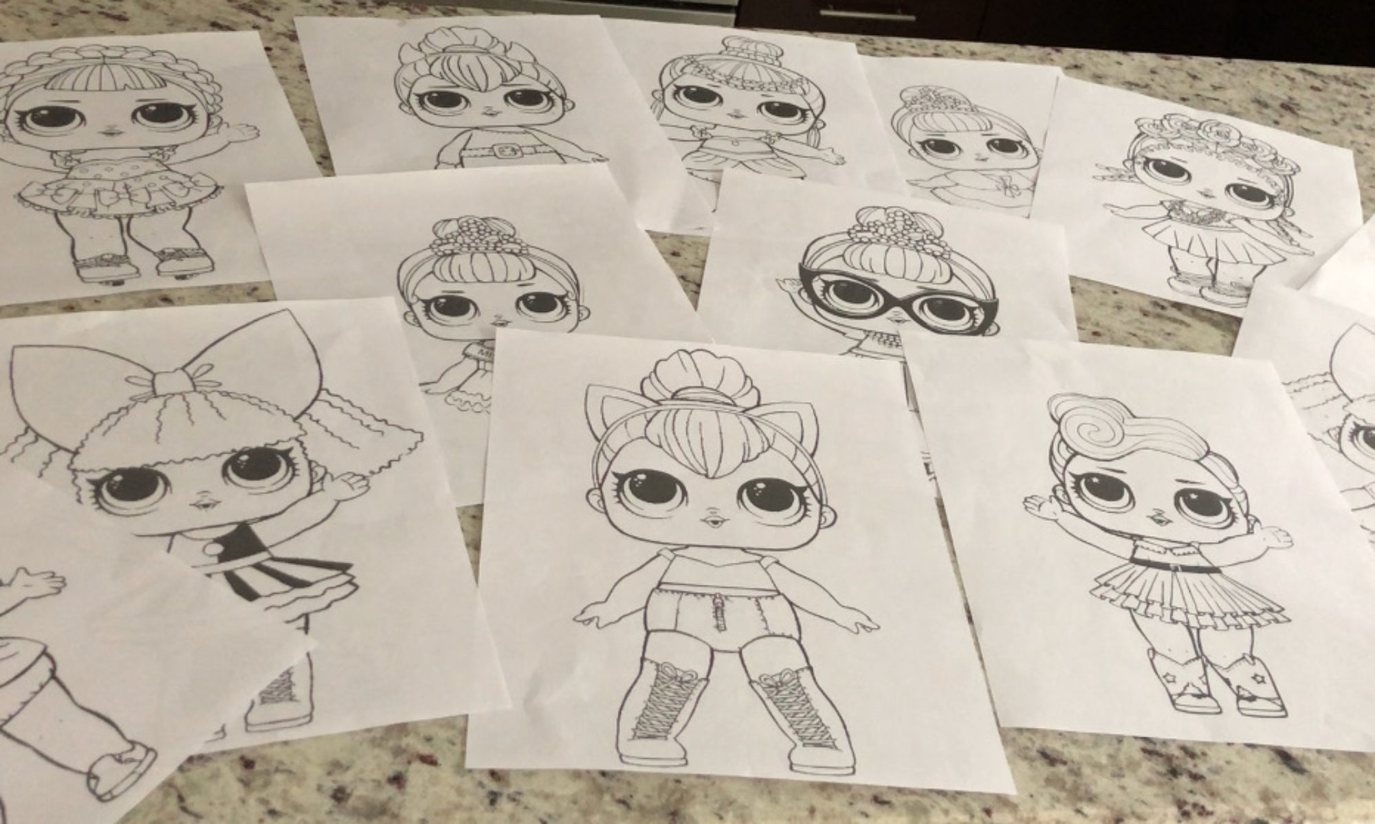 Lolcoloringpages Lol Surprise Doll Coloring Pages