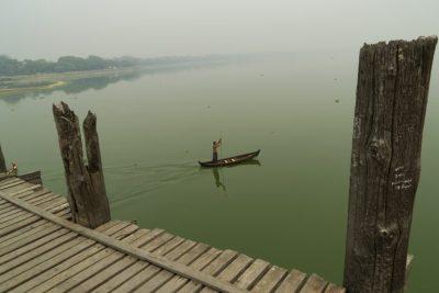 LOLEI TRAVEL – The U Bein Bridge in Mandalay, Myanmar