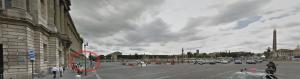 Foto extraída do Street View do Google: olha como é perto a estação! Como não vi?!?
