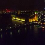 Big Ben, Westminster... tudo de cima!