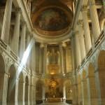 Capela real, um dos primeiros lugares que a gente vê (não é permitido entrar durante a visita)