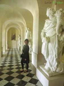 Acesso aos aposentos das princesas... o Grand Trianon tem um hall com chão semelhante.